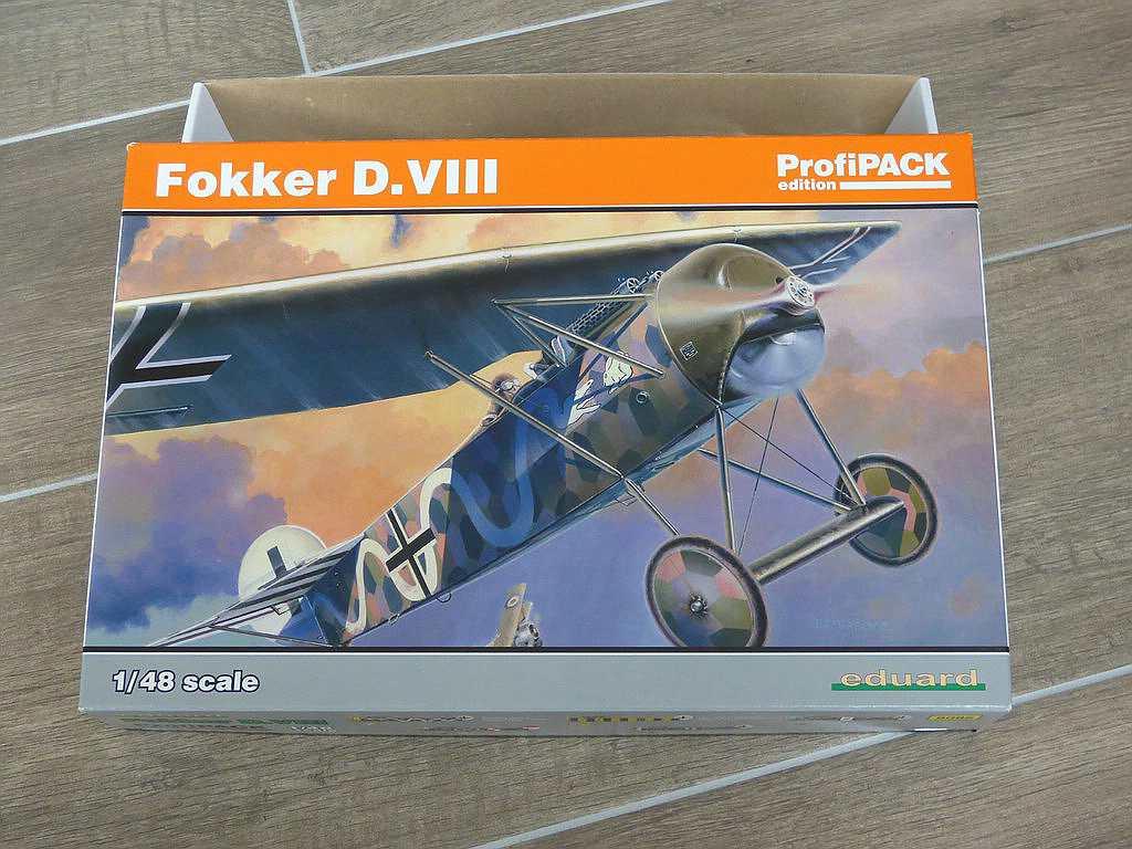 Eduard-8085-Fokker-D-13 Fokker D.VIII in 1:48 von Eduard 8085