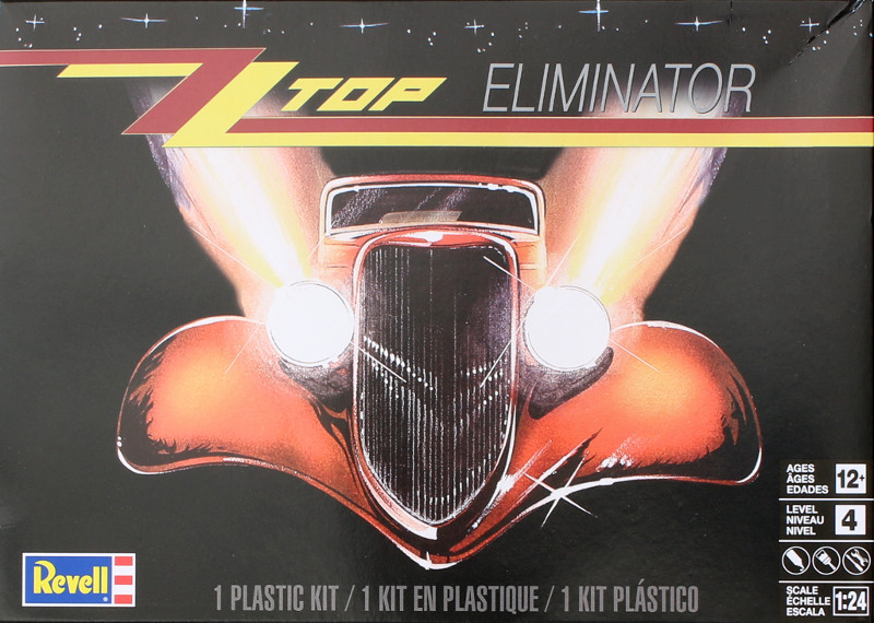 Eliminator-Box ZZ Top Eliminator 1:24 Revell USA (#85-4465)