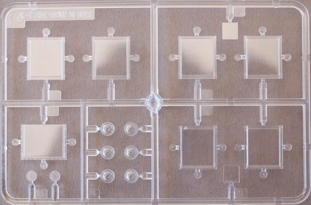 Klarsichtteile-2 M109A3 2.5-Ton 6×6 Shop Van 1:35 AFV Club (#AF35304)