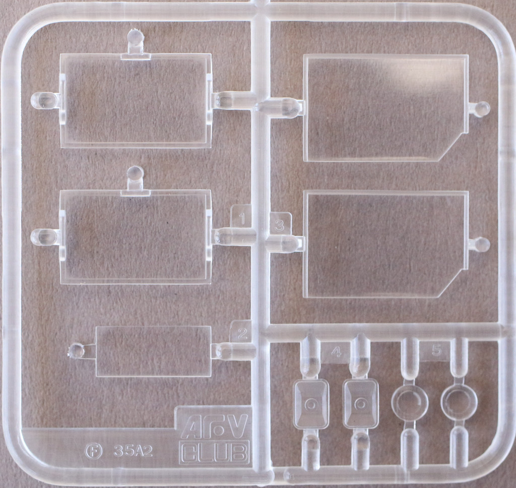 Klarsichtteile-B M109A3 2.5-Ton 6×6 Shop Van 1:35 AFV Club (#AF35304)