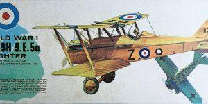Kit-Archäologie – heute: British Fighter S.E. 5a von Lindberg im Maßstab 1:48