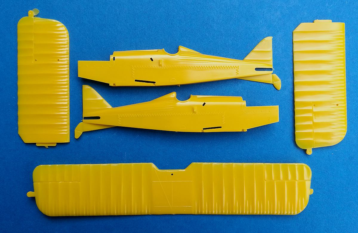 Lindberg-S.E.-5a-2 Kit-Archäologie - heute: British Fighter S.E. 5a von Lindberg im Maßstab 1:48