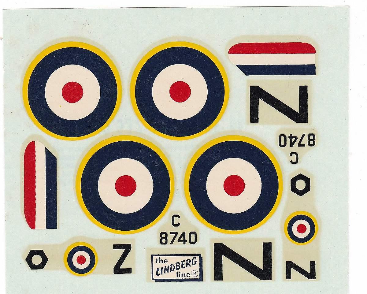Lindberg-S.E.-5a-22 Kit-Archäologie - heute: British Fighter S.E. 5a von Lindberg im Maßstab 1:48