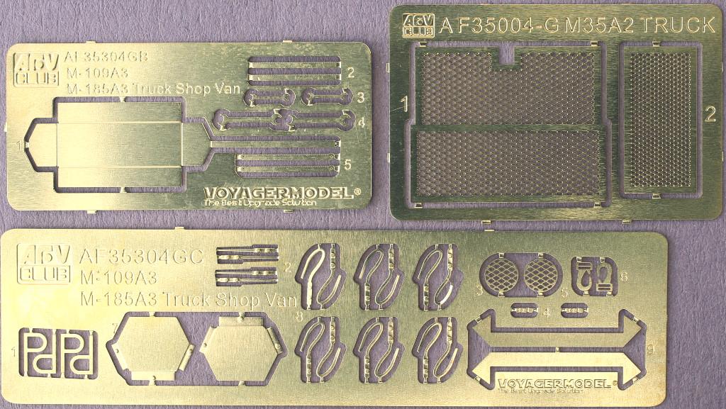PE-1 M109A3 2.5-Ton 6×6 Shop Van 1:35 AFV Club (#AF35304)