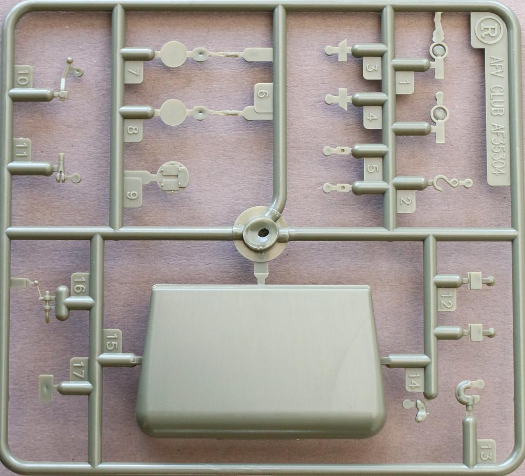 R M109A3 2.5-Ton 6×6 Shop Van 1:35 AFV Club (#AF35304)