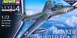 Hawker Hunter FGA.9 British Legends im Maßstab 1:72 von Revell 03908
