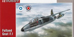 Folland Gnat in Finnish and Yugoslav Service in 1:72 von Special Hobby SH 72137