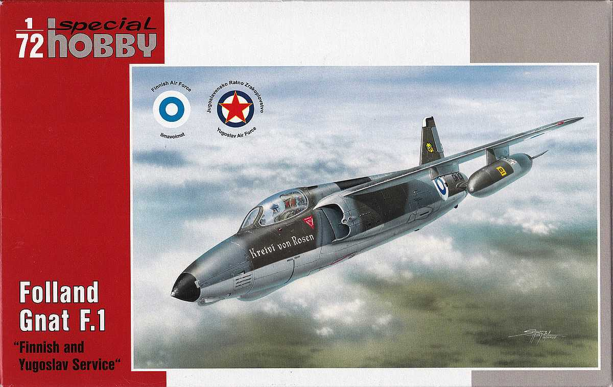 Special-Hobby-SH-72137-Folland-Gnat-Finnish-and-Yugoslav-Service-1 Folland Gnat in Finnish and Yugoslav Service in 1:72 von Special Hobby SH 72137