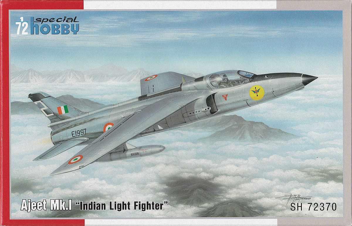 Special-Hobby-SH-72370-Ajeet-Mk.-I-Indian-Light-Fighter-25 Ajeet Mk. I Indian Light Fighter im Maßstab 1:72 von Special Hobby SH 72370
