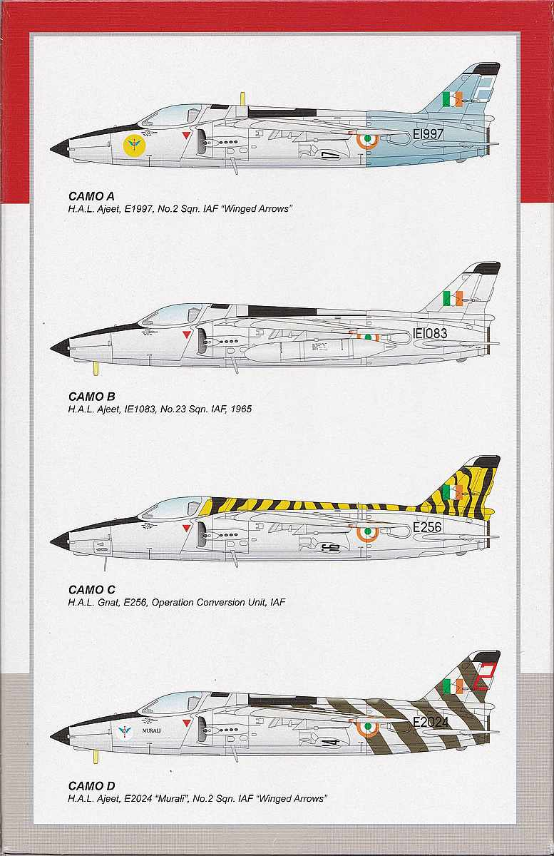 Special-Hobby-SH-72370-Ajeet-Mk.-I-Indian-Light-Fighter-26 Ajeet Mk. I Indian Light Fighter im Maßstab 1:72 von Special Hobby SH 72370