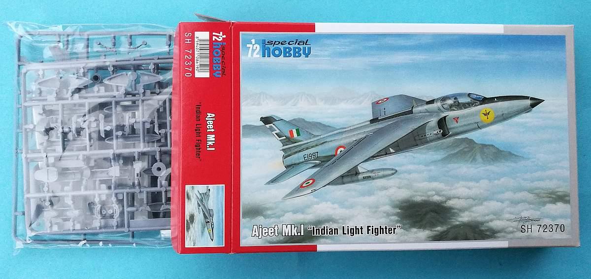 Special-Hobby-SH-72370-Ajeet-Mk.-I-Indian-Light-Fighter-33 Ajeet Mk. I Indian Light Fighter im Maßstab 1:72 von Special Hobby SH 72370