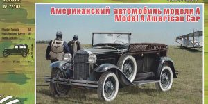 GAZ-A / Ford Model A in 1:72 von Zebrano 72109