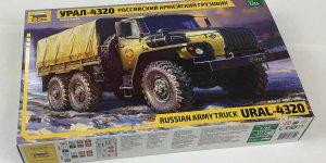 Russischer LKW Ural 4320 im Maßstab 1:35 von Zvezda 3654