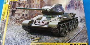 T-34/85 Modell 1944 in 1:35 von Zvezda # 3687