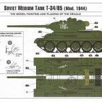Zvezda-3687-T-34-85-Mod.-1944-5-150x150 T-34/85 Modell 1944 in 1:35 von Zvezda # 3687