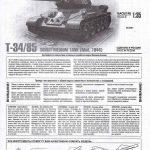 Zvezda-3687-T-34-85-Mod.-1944-7-150x150 T-34/85 Modell 1944 in 1:35 von Zvezda # 3687