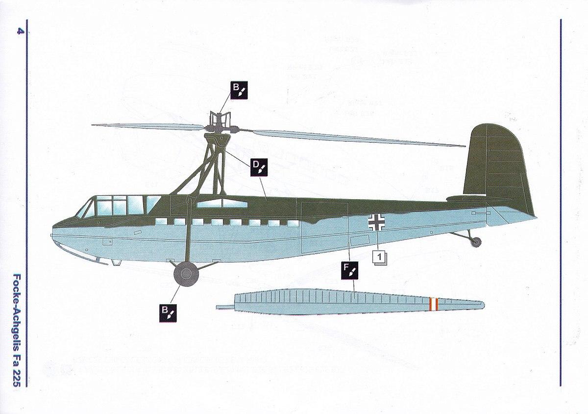 AMP-72001-Focke-Achgelis-Fa-225-10 Focke Achgelis Fa 225 im Maßstab 1:72 von AMP 72001