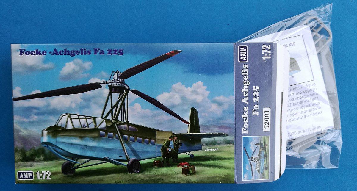 AMP-72001-Focke-Achgelis-Fa-225-14 Focke Achgelis Fa 225 im Maßstab 1:72 von AMP 72001