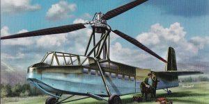 Focke Achgelis Fa 225 im Maßstab 1:72 von AMP 72001