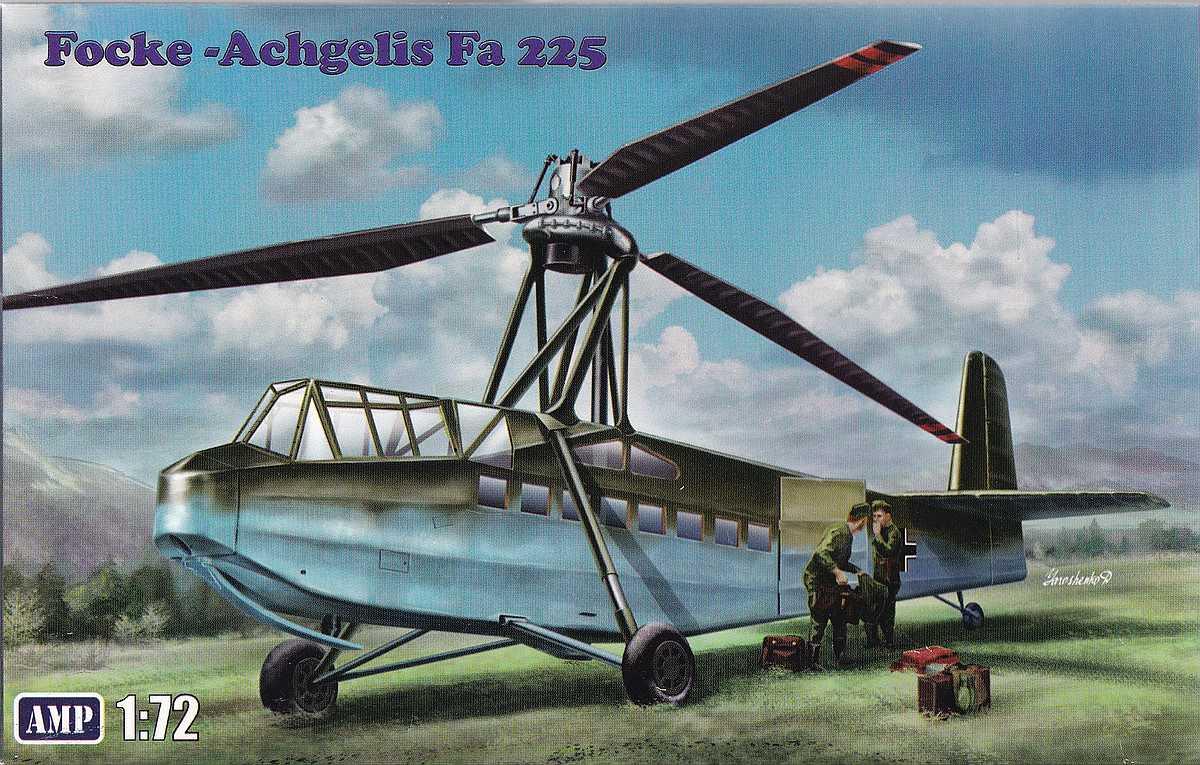 AMP-72001-Focke-Achgelis-Fa-225-7 Focke Achgelis Fa 225 im Maßstab 1:72 von AMP 72001