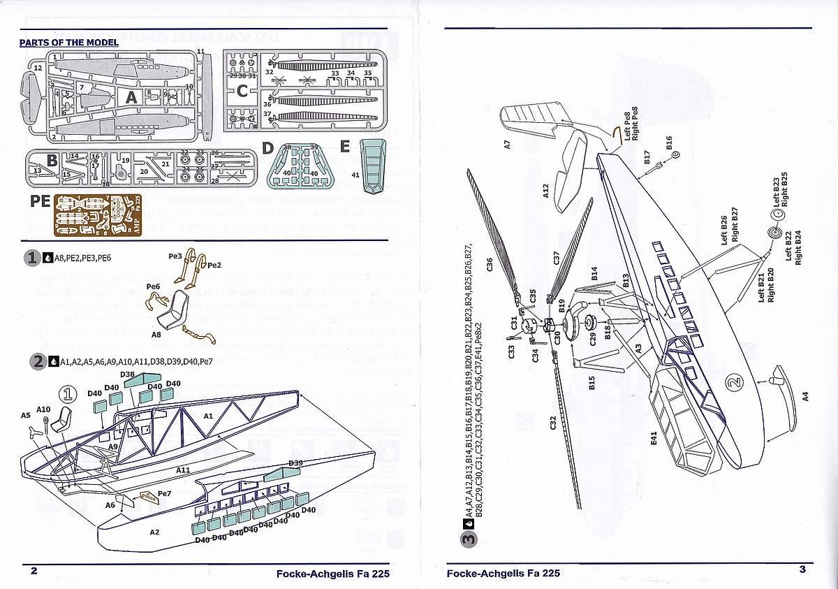 AMP-72001-Focke-Achgelis-Fa-225-8 Focke Achgelis Fa 225 im Maßstab 1:72 von AMP 72001