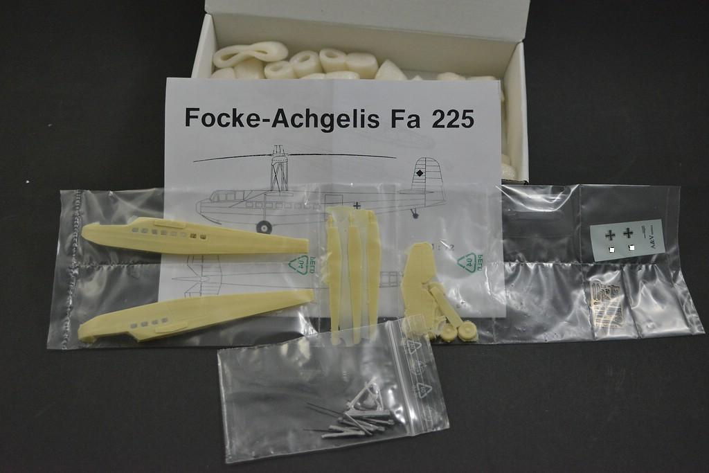 AV-Models-Fa-225-2 Focke Achgelis Fa 225 im Maßstab 1:72 von A+V Models