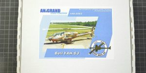 Kampfhubschrauber Bell YAH-63 im Maßstab 1:72 von Anigrand AA-2063
