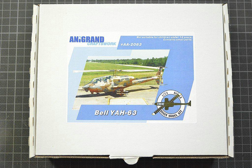 Anigrand-AA-2063-YAH-63-1 Kampfhubschrauber Bell YAH-63 im Maßstab 1:72 von Anigrand AA-2063