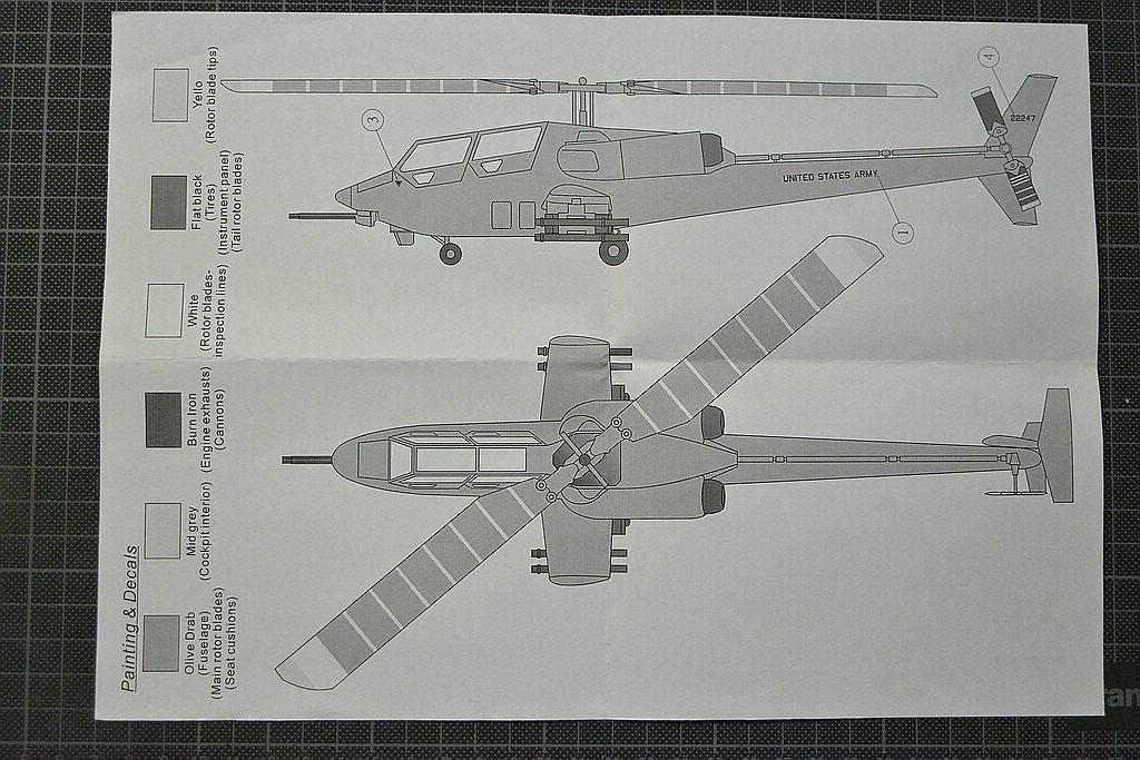Anigrand-AA-2063-YAH-63-16 Kampfhubschrauber Bell YAH-63 im Maßstab 1:72 von Anigrand AA-2063