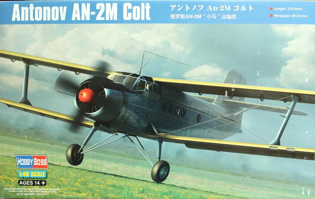 Antonov_AN-2_HobbyBoss_01 Antonov An-2M Colt - Hobby Boss 1/48