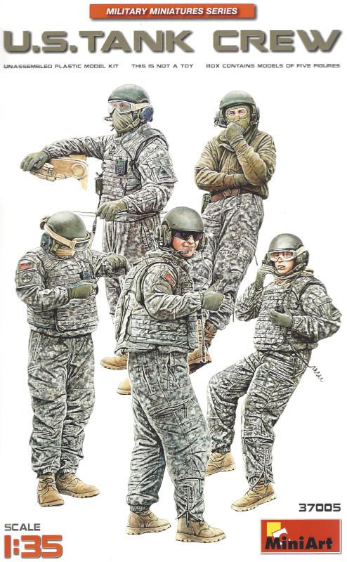 Box-2 U.S. Tank Crew 1:35 Miniart #37005