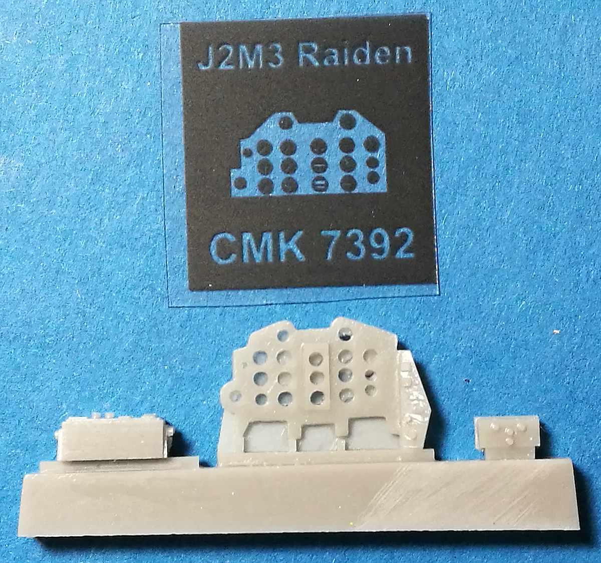 CMK-7392-J2M3-Raiden-Cockpit-Set-5 Zubehör für Hasegawas J2M3 Raiden im Maßstab 1:72 von CMK 7392 - 7396