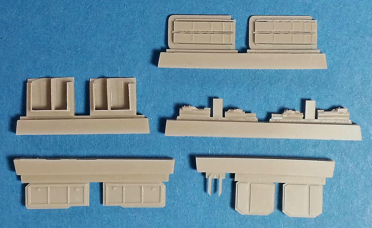 CMK-7393-J2M3-Raiden-Armament-set-2 Zubehör für Hasegawas J2M3 Raiden im Maßstab 1:72 von CMK 7392 - 7396