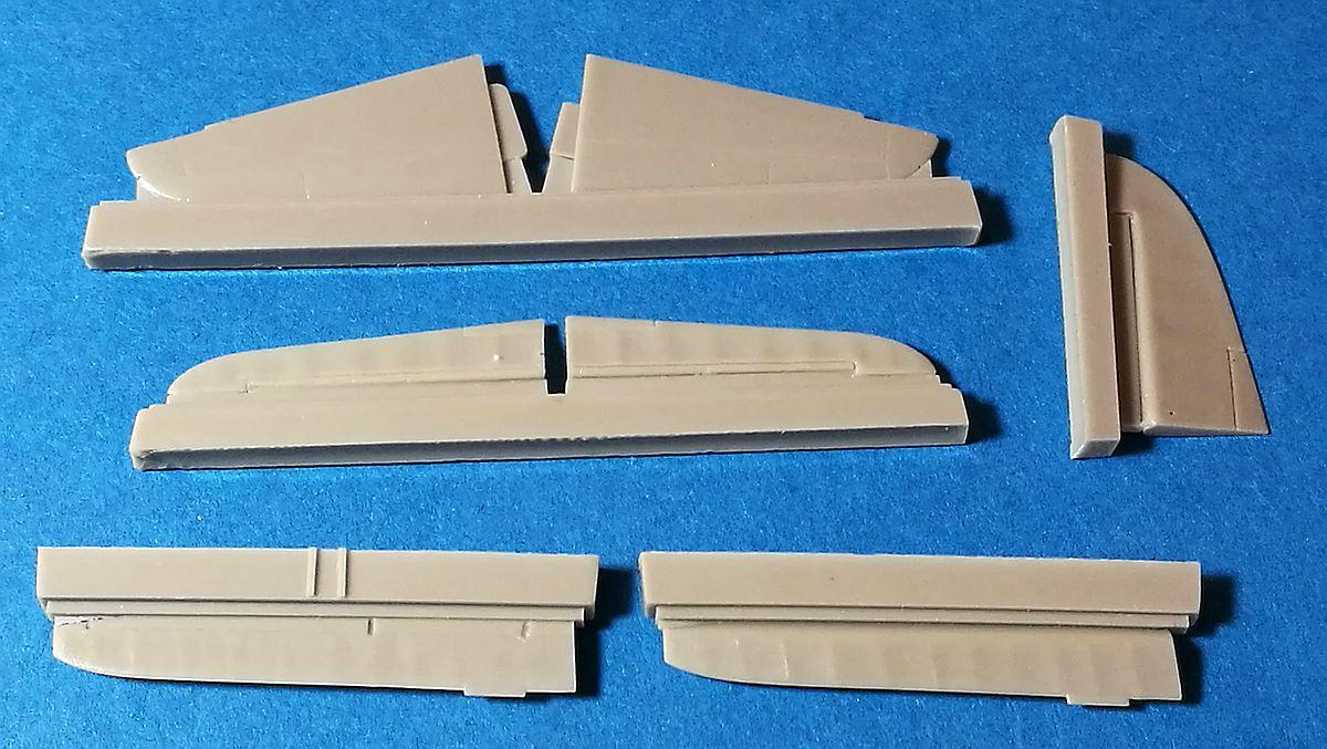 CMK-7394-J2M3-Raiden-Control-Surfaces-2 Zubehör für Hasegawas J2M3 Raiden im Maßstab 1:72 von CMK 7392 - 7396