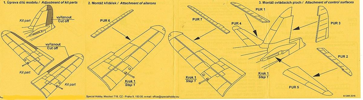 CMK-7394-J2M3-Raiden-Control-Surfaces-3 Zubehör für Hasegawas J2M3 Raiden im Maßstab 1:72 von CMK 7392 - 7396