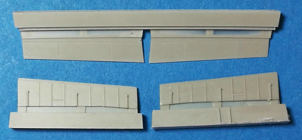 CMK-7395-J2M3-Raiden-Wing-Flaps-2 Zubehör für Hasegawas J2M3 Raiden im Maßstab 1:72 von CMK 7392 - 7396
