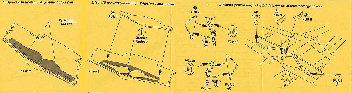 CMK-7396-J2M3-Raiden-Wheel-Wells-and-Covers-2 Zubehör für Hasegawas J2M3 Raiden im Maßstab 1:72 von CMK 7392 - 7396
