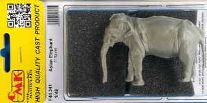 Asian Elephant im Maßstab 1:48 von CMK/Special Hobby F48 341
