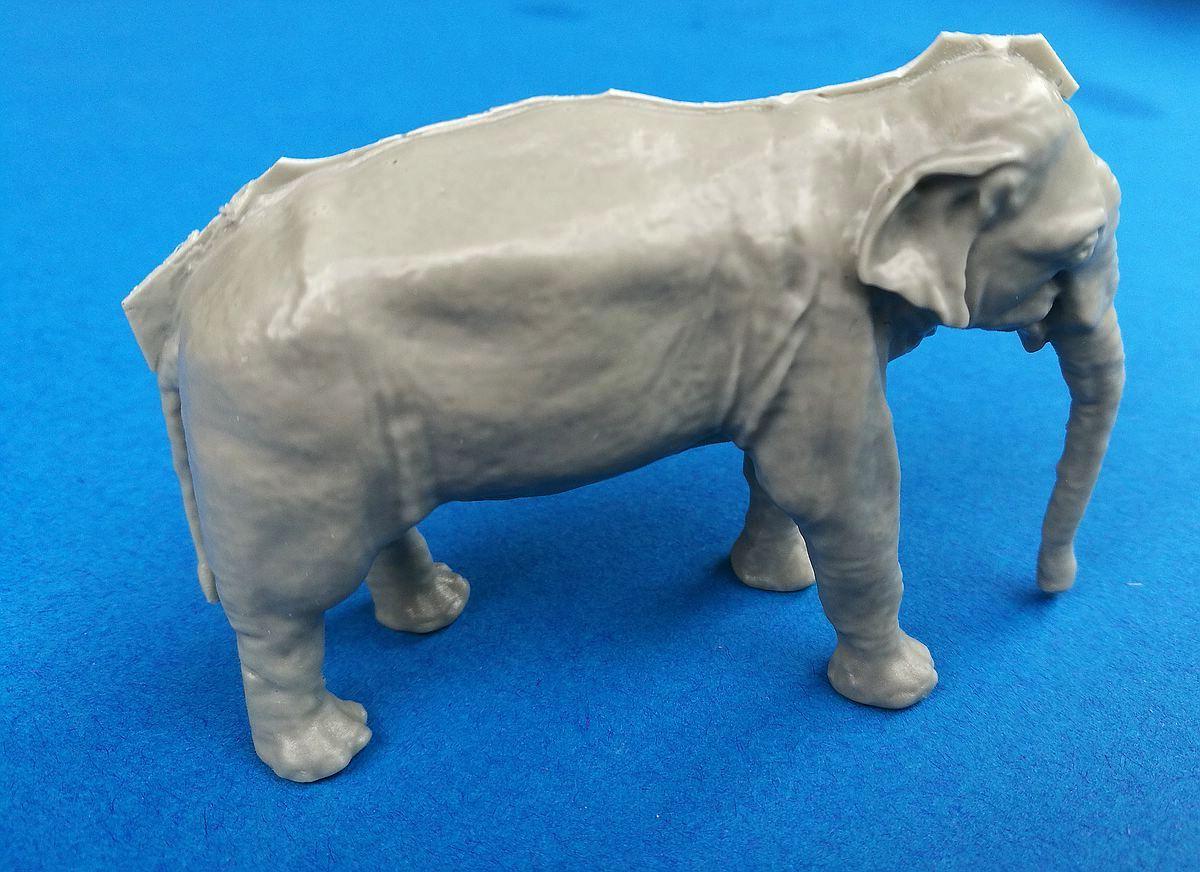 CMK-F48341-Asian-Elephant-4 Asian Elephant im Maßstab 1:48 von CMK/Special Hobby F48 341