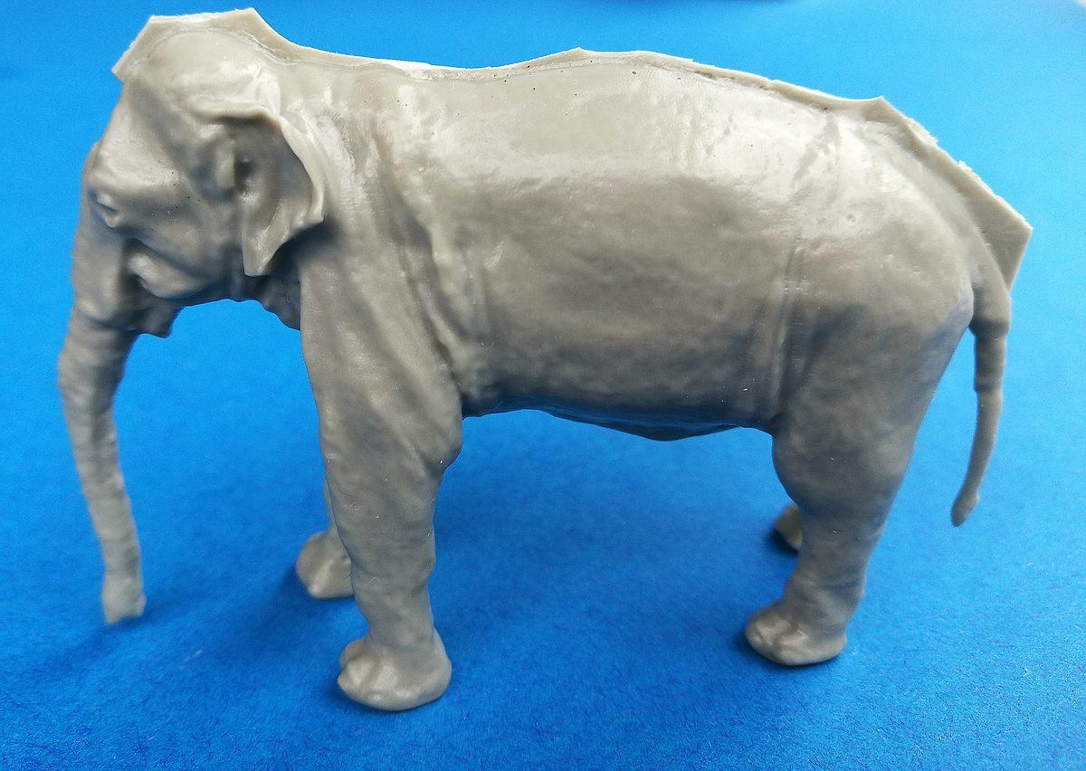 CMK-F48341-Asian-Elephant-5 Asian Elephant im Maßstab 1:48 von CMK/Special Hobby F48 341