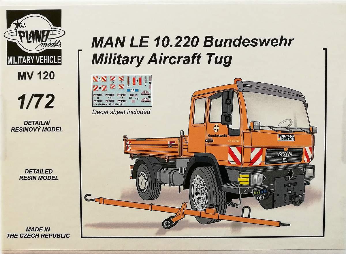 CMK-MV-120-MAN-LE-10.220-Bundeswehr-Military-Aircraft-Tug-15 MAN LE 10.220 Bundeswehr Military Aircraft Tug in 1:72 von CMK MV 120