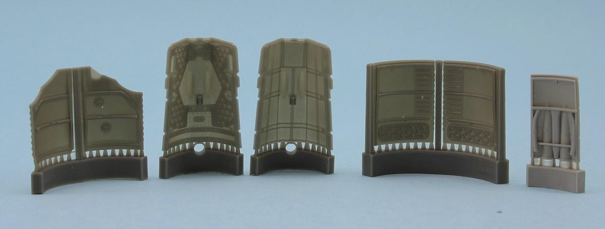 Eduard-648408-FW-190-A-5-Engine-Brassin-19 FW 190 A-5 BRASSIN Engine and Fuselage Guns in 1:48 von Eduard 648408