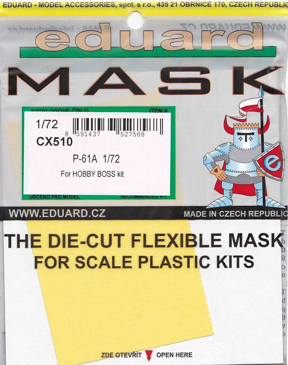 Eduard-CX-510-P-61A-Masken-3 Eduard Detailsets für die P-61A von HobbyBoss im Maßstab 1:72