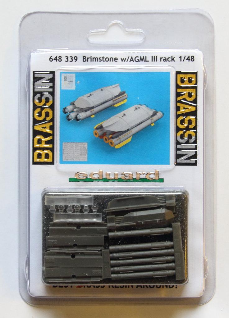 Eduard_Brimstone_w_AGML_Rack_01 Brimstone with AGML III rack - Eduard BRASSIN 1/48