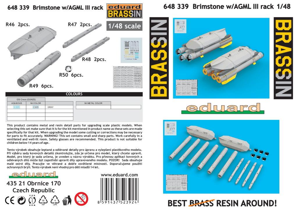 Eduard_Brimstone_w_AGML_Rack_13 Brimstone with AGML III rack - Eduard BRASSIN 1/48