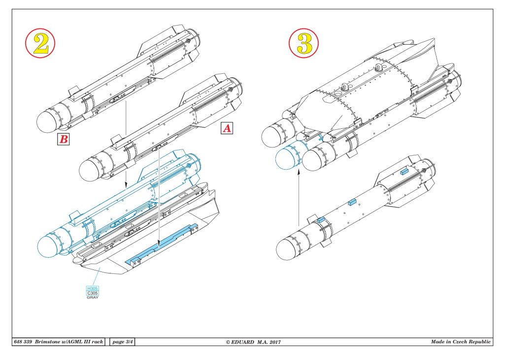 Eduard_Brimstone_w_AGML_Rack_15 Brimstone with AGML III rack - Eduard BRASSIN 1/48