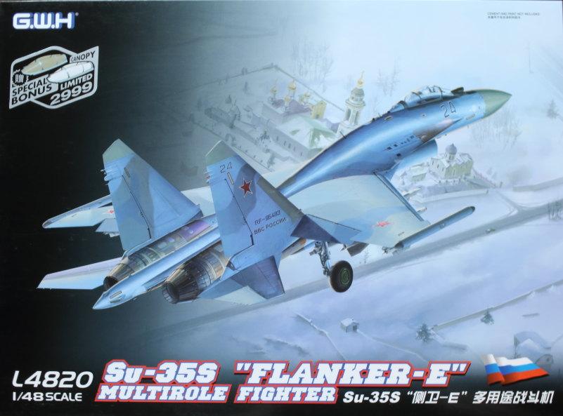 "GWH_Su-35S_01 Su-35S ""Flanker-E"" - Great Wall Hobby (G.W.H) 1/48"