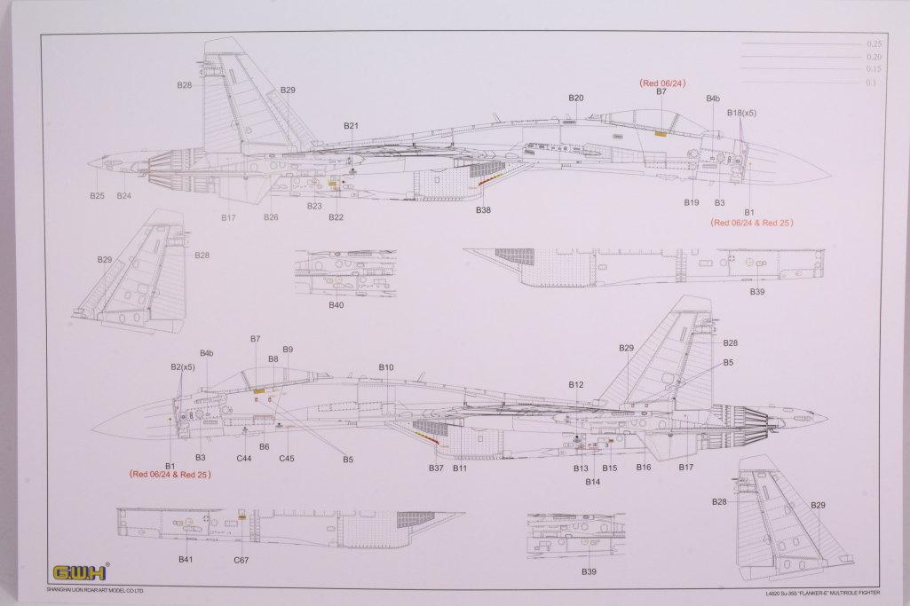 "GWH_Su-35S_57 Su-35S ""Flanker-E"" - Great Wall Hobby (G.W.H) 1/48"