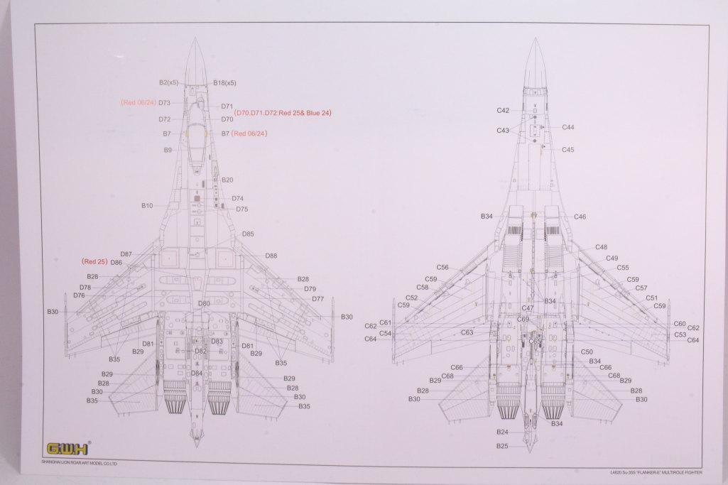 "GWH_Su-35S_58 Su-35S ""Flanker-E"" - Great Wall Hobby (G.W.H) 1/48"