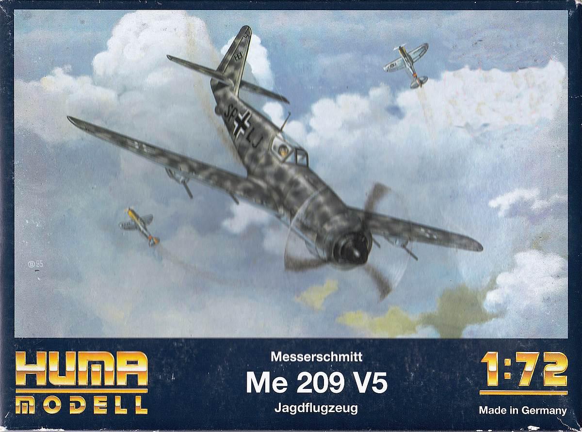 HUMA-3505-Messerschmitt-Me-209-V5-10 Kit-Archäologie - heute: Messerschmitt Me 209 V5 im Maßstab 1:72 von HUMA